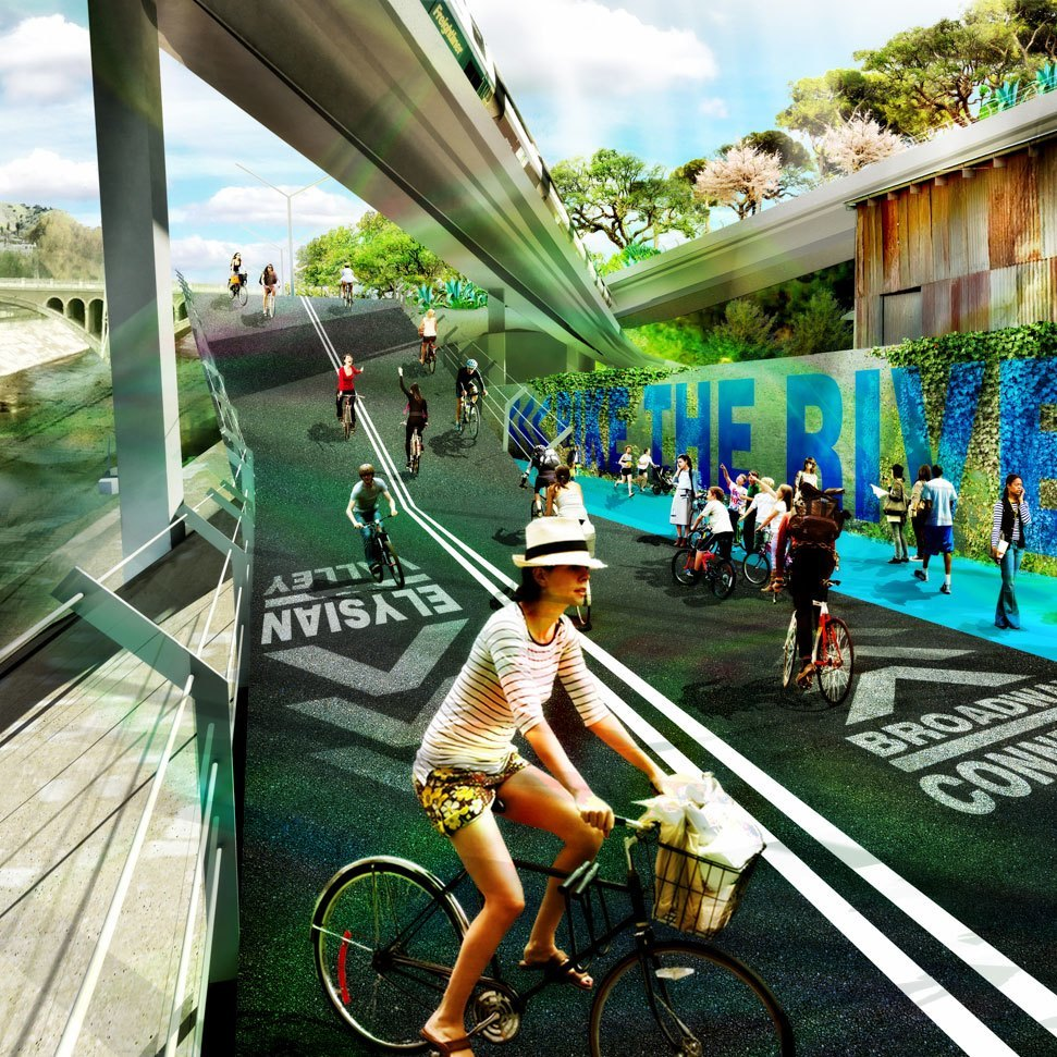Los Angeles River Greenway 2020